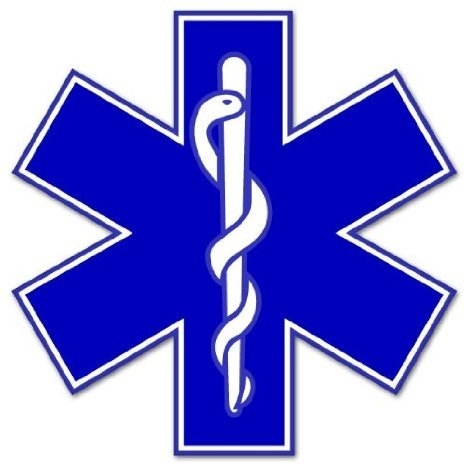 Star of life klistermærke